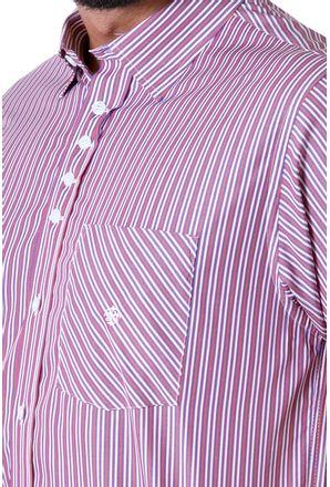 Camisa-casual-masculina-tradicional-algodao-fio-80-roxo-f01421a-detalhe1