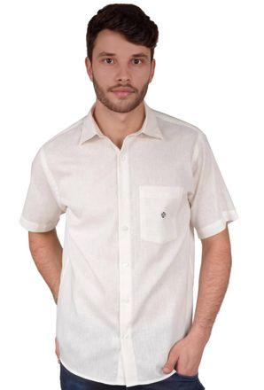Camisa-casual-masculina-tradicional-linho-misto-creme-f01464a-frente