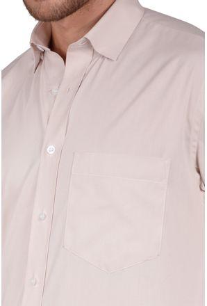 Camisa-casual-masculina-tradicional-algodao-fio-40-bege-r09903a-detalhe1