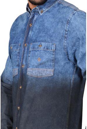 Camisa-casual-masculina-tradicional-jeans-preto-f01820a-detalhe1