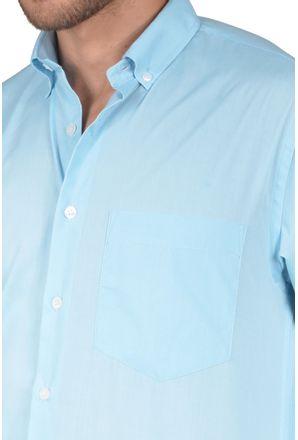 Camisa-casual-masculina-tradicional-algodao-misto-azul-claro-r09993a-detalhe1