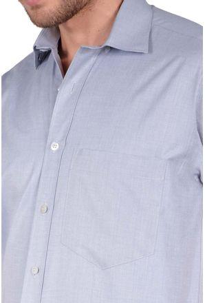 Camisa-casual-masculina-tradicional-algodao-fil-a-fil-grafite-r07060a-detalhe1