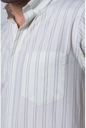 Camisa-casual-masculina-tradicional-algodao-misto-verde-f07034a-detalhe1