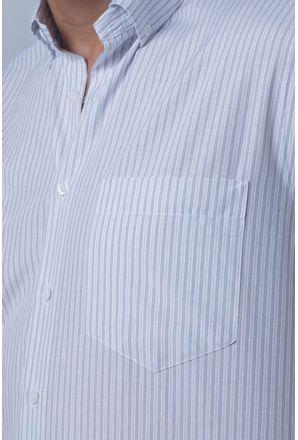 Camisa-casual-masculina-tradicional-algodao-misto-cinza-f07034a-detalhe1