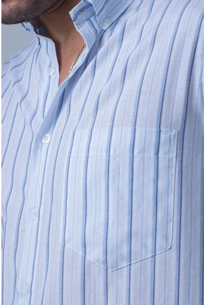 Camisa-casual-masculina-tradicional-algodao-misto-azul-claro-f07034a-detalhe1