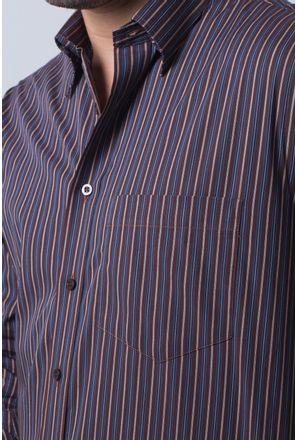 Camisa-casual-masculina-tradicional-algodi¿½o-fio-50-azul-escuro-f01315a-detalhe1