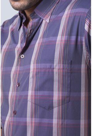 Camisa-casual-masculina-tradicional-algodi¿½o-fio-50-lili¿½s-f01668a-detalhe1
