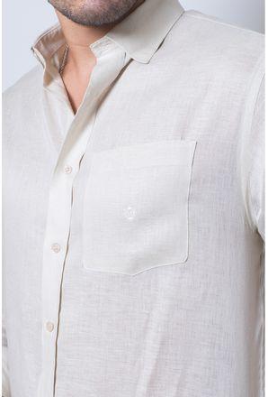 Camisa-casual-masculina-puro-linho-tradicional-bege-f03943a-detalhe1