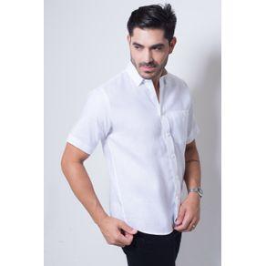 Camisa-casual-masculina-tradicional-linho-branco-f03943a-frente