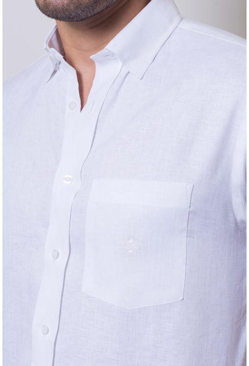Camisa-casual-masculina-tradicional-linho-branco-f03943a-detalhe1
