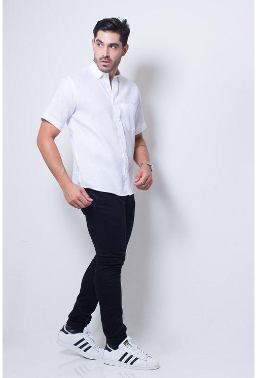Camisa-casual-masculina-tradicional-linho-branco-f03943a-detalhe2