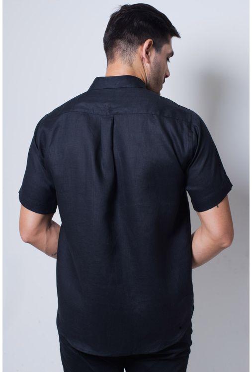 Camisa-casual-masculina-tradicional-linho-preto-f03943a-verso