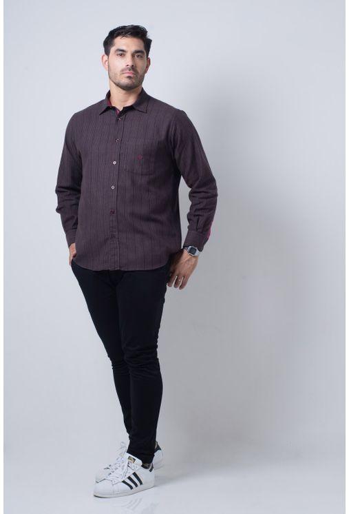Camisa-casual-masculina-tradicional-flanela-bordo-f01067a-detalhe2