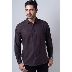 Camisa-casual-masculina-tradicional-flanela-bordo-f01067a-frente