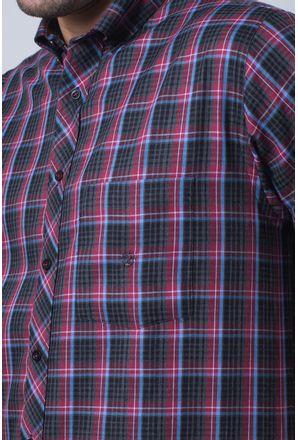 Camisa-casual-masculina-tradicional-flanela-vermelho-f01833a-detalhe1
