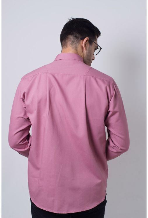Camisa-casual-masculina-tradicional-sarjada-salmi¿½o-f01695a-frente