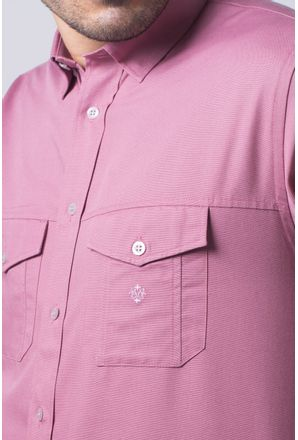 Camisa-casual-masculina-tradicional-sarjada-salmi¿½o-f01695a-detalhe1