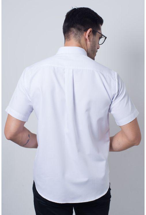 Camisa-casual-masculina-tradicional-sarjada-branco-f01678a-verso