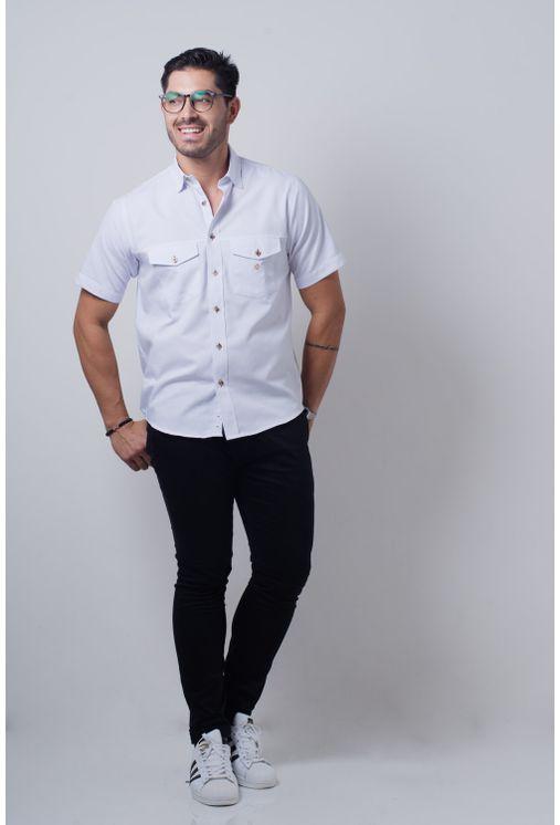 Camisa-casual-masculina-tradicional-sarjada-branco-f01678a-detalhe2