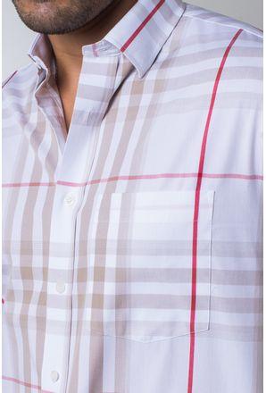 Camisa-casual-masculina-tradicional-algodi¿½o-fio-50-bege-f04371a-detalhe1
