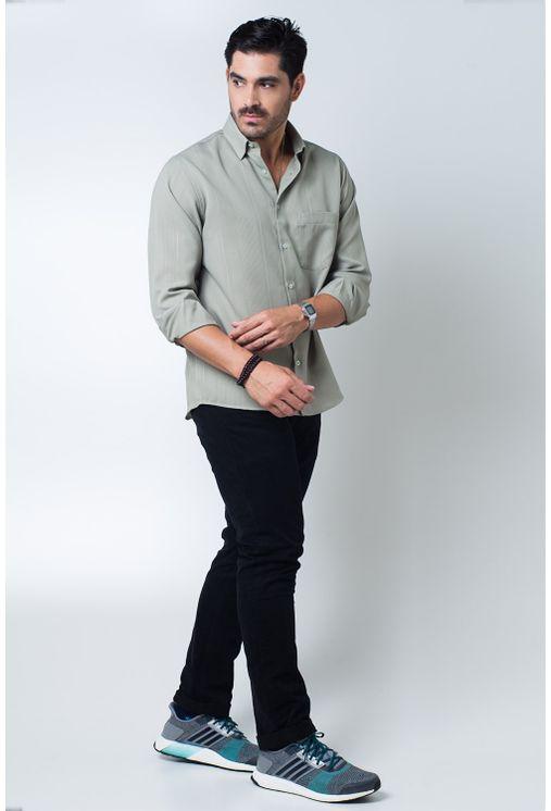Camisa-casual-masculina-tradicional-microfibra-verde-f06208a-detalhe2