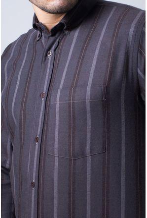 Camisa-casual-masculina-tradicional-flanela-marrom-f04521a-detalhe1