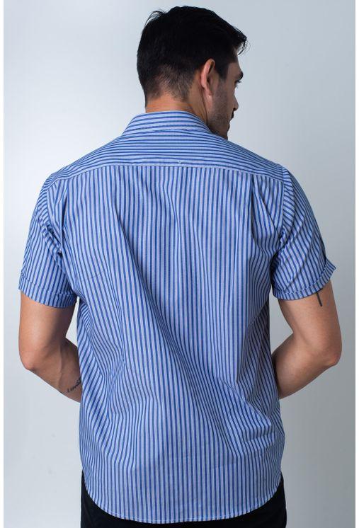 Camisa-casual-masculina-tradicional-algodi¿½o-fio-50-azul-f01377a-verso