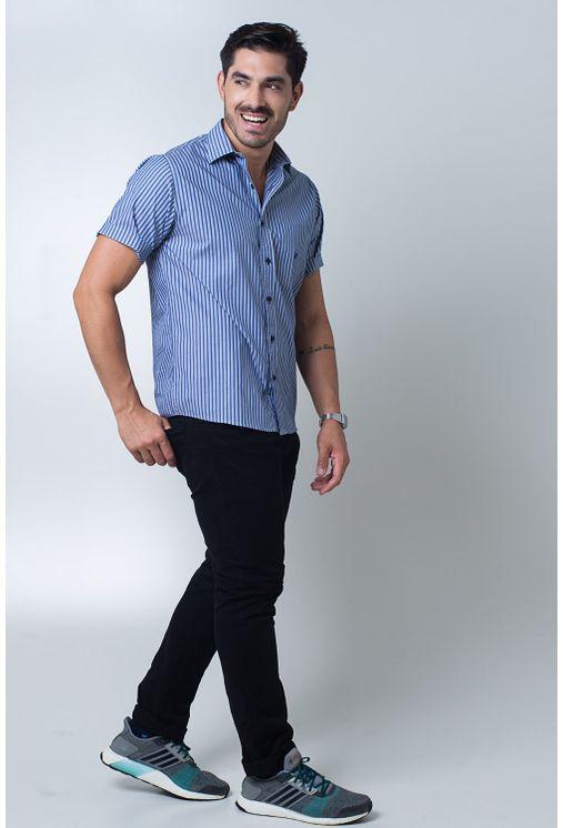 Camisa-casual-masculina-tradicional-algodi¿½o-fio-50-azul-f01377a-detalhe2