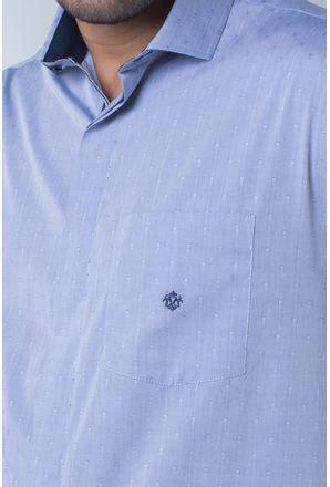 Camisa-casual-masculina-tradicional-algodi¿½o-fio-60-azul-f01039a-detalhe1