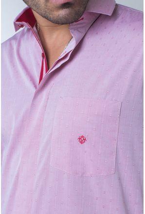 Camisa-casual-masculina-tradicional-algodi¿½o-fio-60-vermelho-f01039a-detalhe1