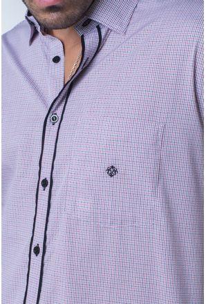 Camisa-casual-masculina-tradicional-algodi¿½o-fio-50-vermelho-f01354a-detalhe1