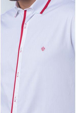 Camisa-casual-masculina-tradicional-algodi¿½o-fio-60-vermelho-f01496a-detalhe1