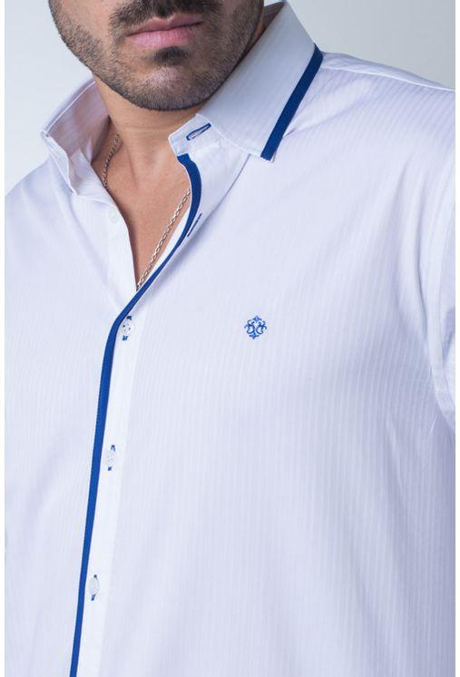 Camisa-casual-masculina-tradicional-algodi¿½o-fio-60-azul-f01496a-frente