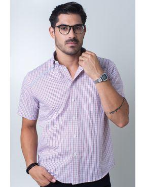 Camisaria Fascynios Oficial · Camisa Casual Masculina · Algodão Fio 50.  Camisa casual masculina tradicional algodão fio 60 vermelho f01449a 01 ... 27c33947faa47