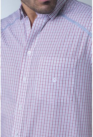 Camisa-casual-masculina-tradicional-algodi¿½o-fio-60-vermelho-f01449a-detalhe1