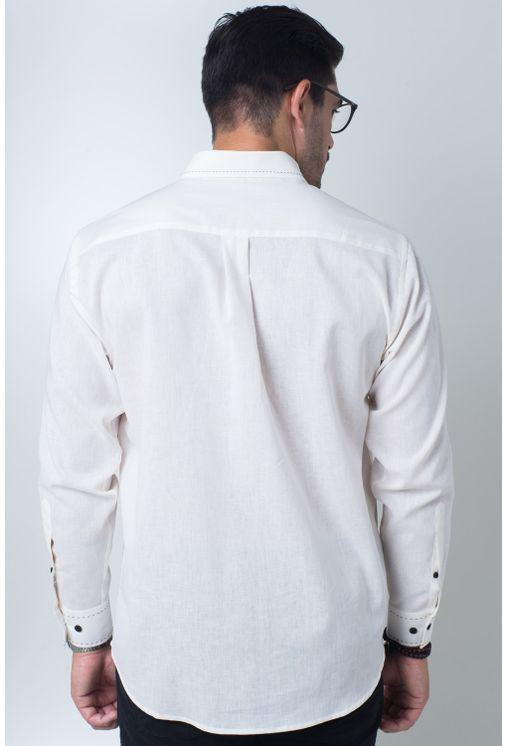 Camisa-casual-masculina-tradicional-linho-misto-creme-f01295a-verso