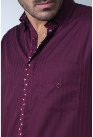 Camisa-casual-masculina-tradicional-algodi¿½o-fio-60-bordo-f01310a-detalhe1