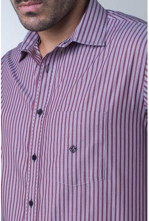 Camisa-casual-masculina-tradicional-algodi¿½o-fio-50-vermelho-f01397a-detalhe1