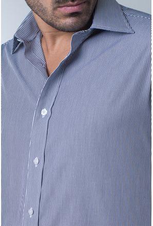 Camisa-casual-masculina-tradicional-algodao-fio-80-preto-f06896a-detalhe1
