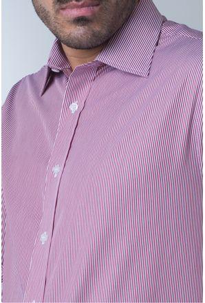 Camisa-casual-masculina-tradicional-algodao-fio-80-vermelho-f06896a-detalhe1
