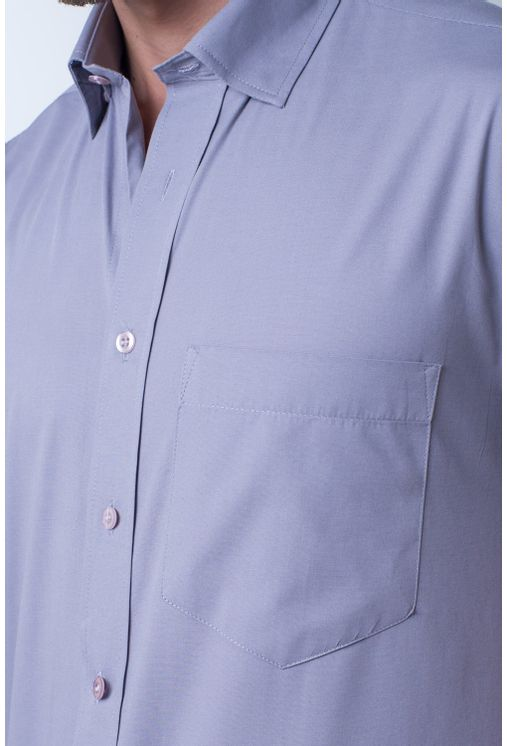 Camisa-basica-masculina-tradicional-algodao-fio-40-cinza-f09903a-frente