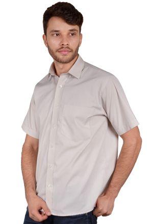 Camisa-basica-masculina-tradicional-algodao-fio-40-marrom-r09903a-frente
