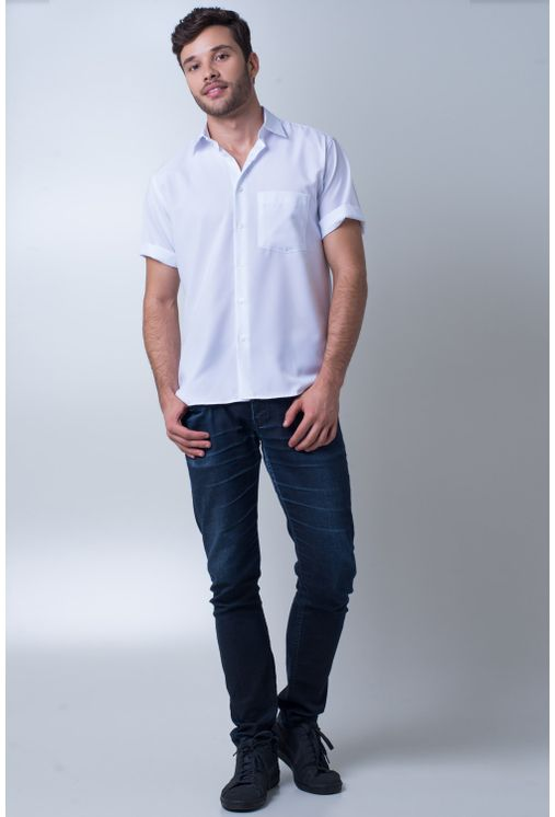 Camisa-casual-masculina-tradicional-microfibra-branco-f06208a-frente