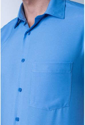 Camisa-casual-masculina-tradicional-microfibra-azul-medio-f06208a-detalhe1