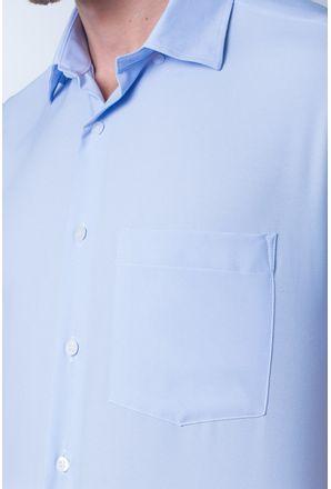 Camisa-casual-masculina-tradicional-microfibra-azul-claro-f06208a-detalhe1