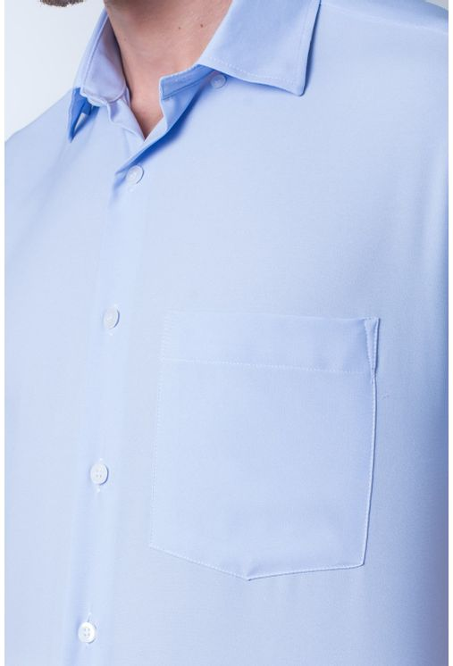 Camisa-casual-masculina-tradicional-microfibra-azul-claro-f06208a-frente