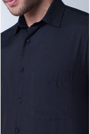 Camisa-casual-masculina-tradicional-microfibra-preto-f06208a-detalhe1