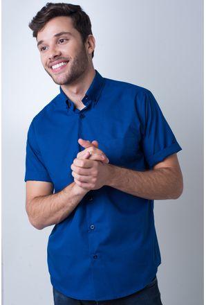 Camisa-basica-masculina-tradicional-algodao-misto-azul-escuro-r09926a-frente