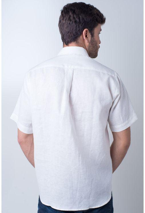 Camisa-casual-masculina-puro-linho-tradicional-creme-f03943a-frente