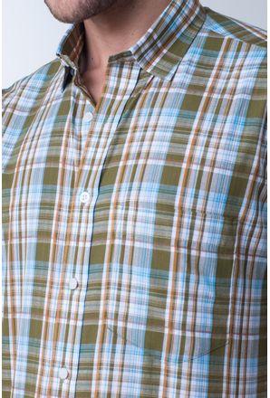 Camisa-casual-masculina-tradicional-algodao-fio-40-verde-f05527a-detalhe1